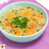 سوپ برای سرماخوردگی | سوپ مرغ و لوبیا