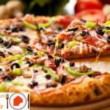 طرز تهیه پیتزا سبزیجات با گوشت