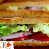 تهیه ساندویچ فرانسوی گرم
