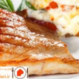 طرز تهیه ی استیک ماهی