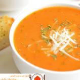 دستور پخت سوپ گوجه و ریحان