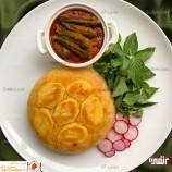 تهیه خوراک بامیه با گوجه